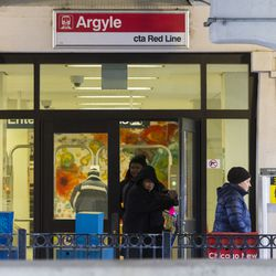 The Argyle Red Line station in Uptown. | Tyler LaRiviere/Sun-Times
