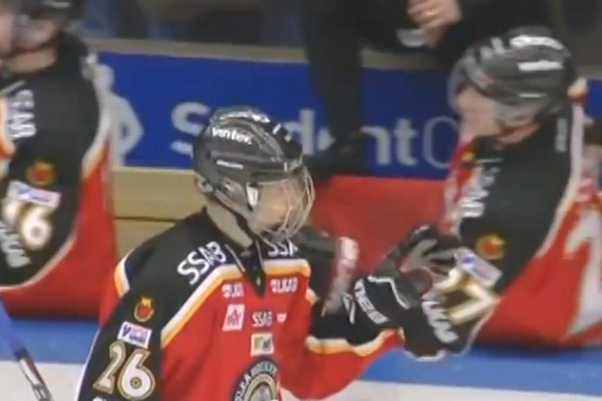 Cehlarik will try to continue his rise through Swedish hockey this season.