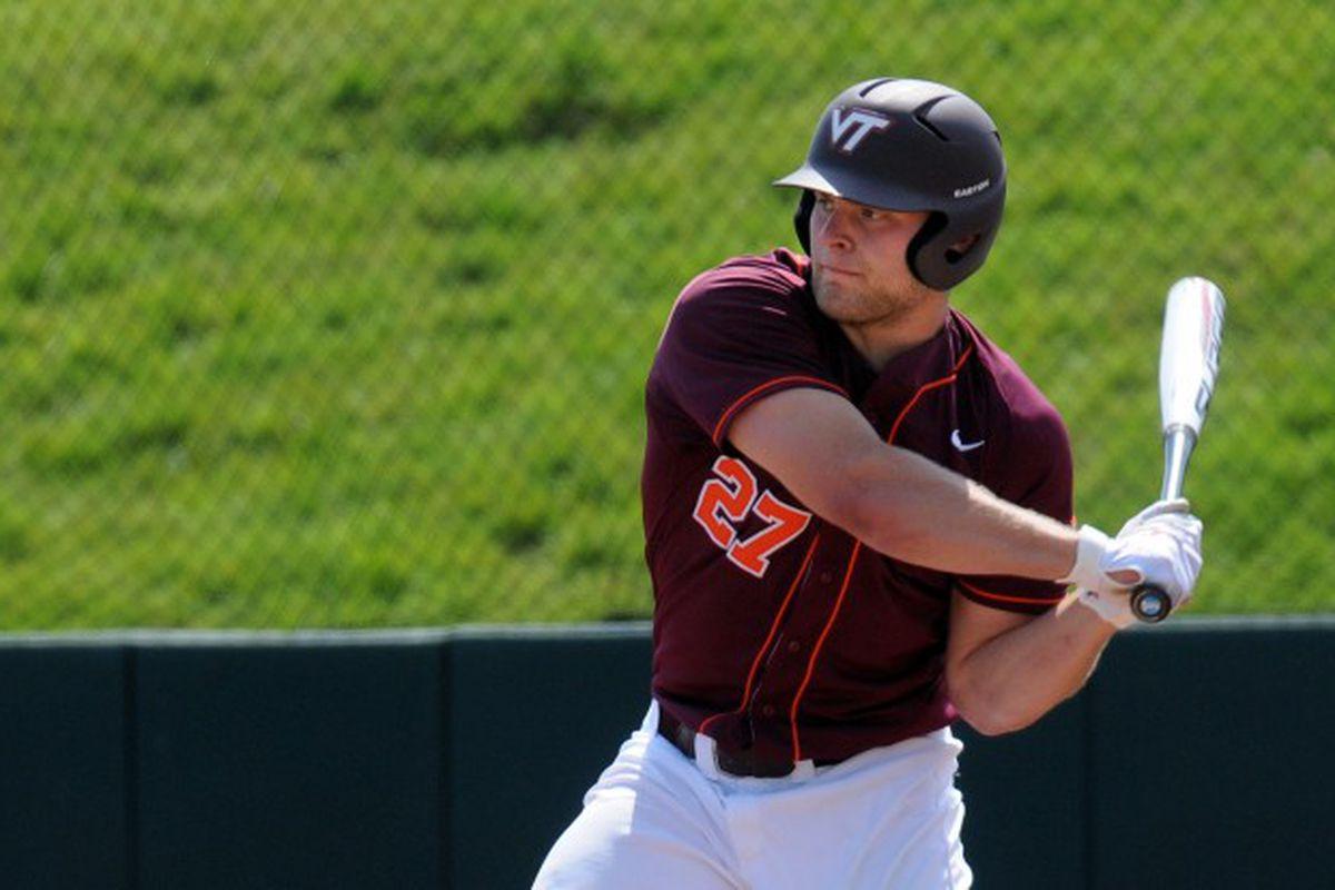 Senior Tyler Horan's Big Bat Has Keyed A Late Virginia Tech Run