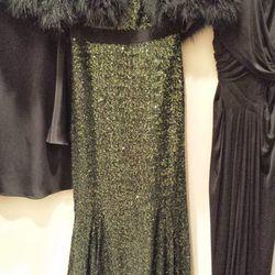 <b>Badgley Mischka</b> dress, $165 rental