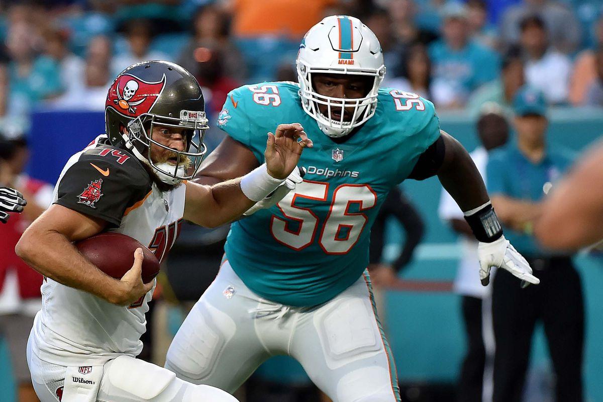 free shipping f8630 b5fee 90-in-90 Miami Dolphins roster breakdown: Davon Godchaux ...
