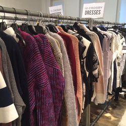 10 Crosby sweaters, $125
