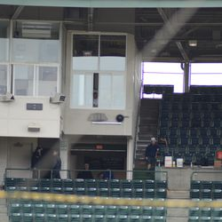 The new video board control room -