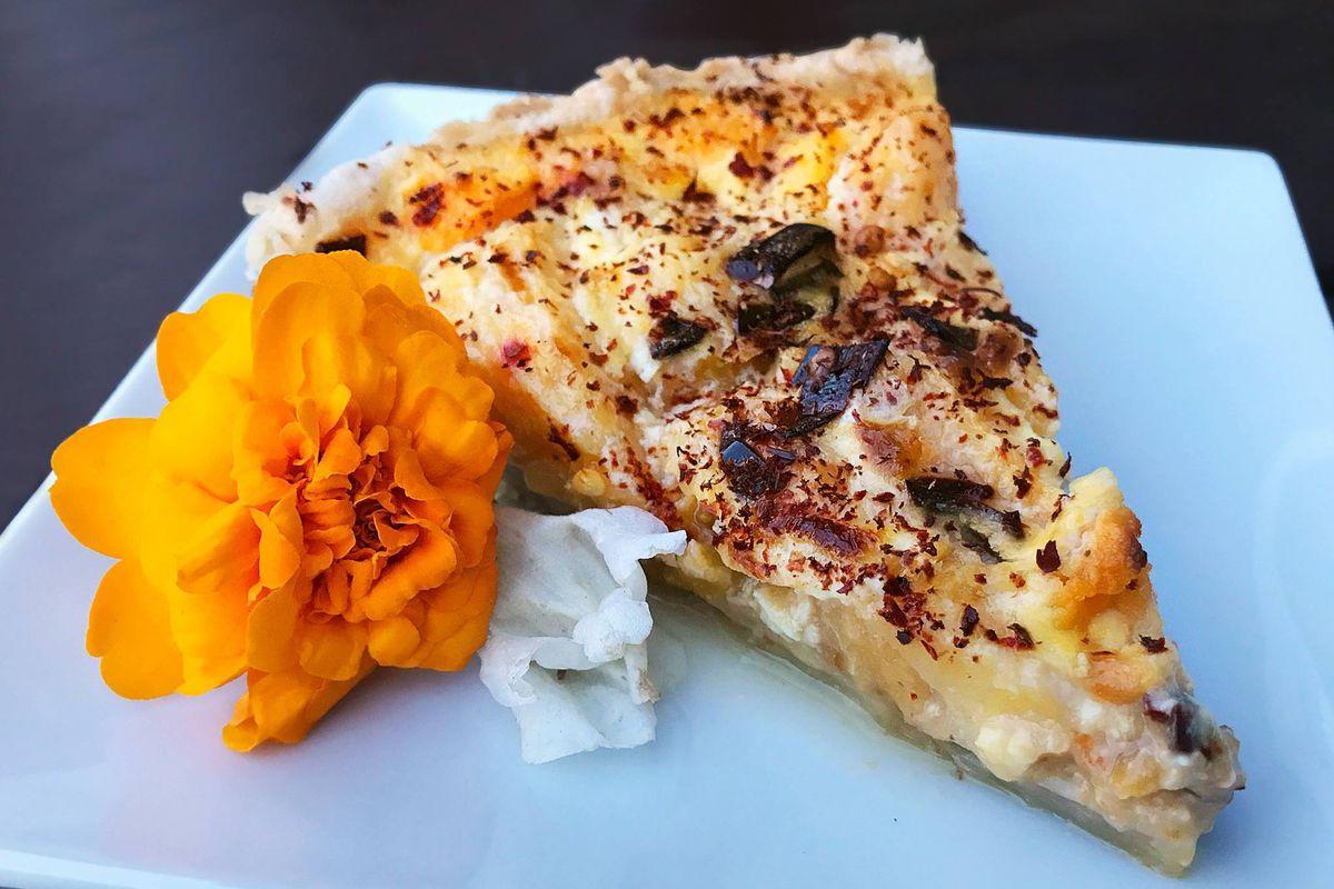 A dessert tart from Tart Shop
