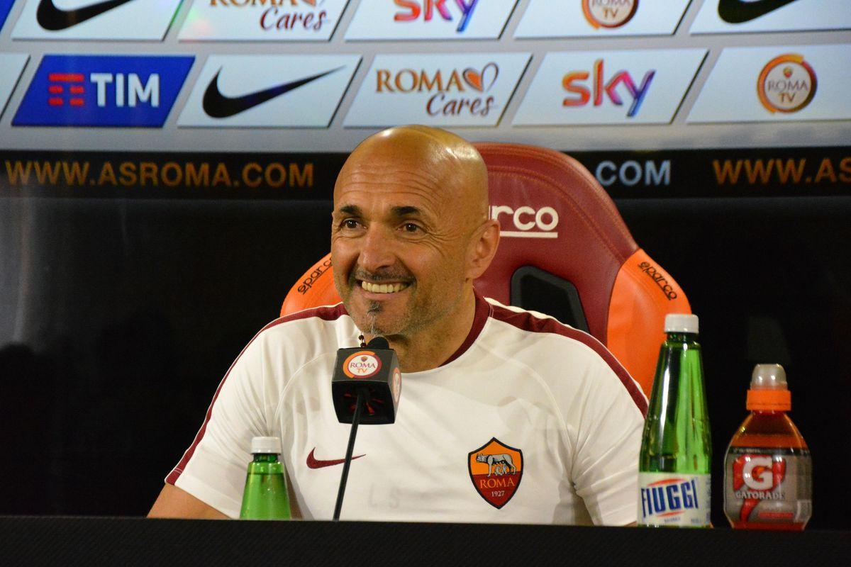 Head Coach of AS Roma Luciano Spalletti