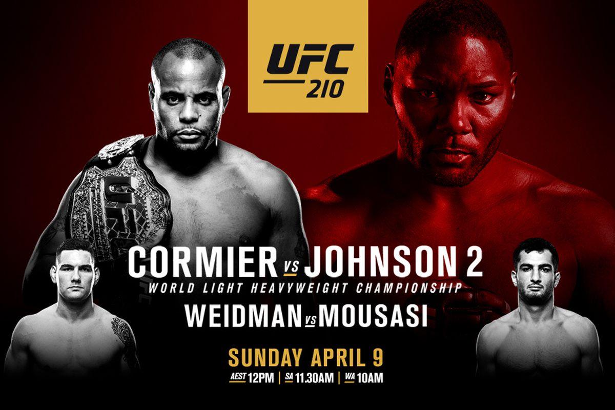 Watch UFC 210: Cormier vs. Joh...