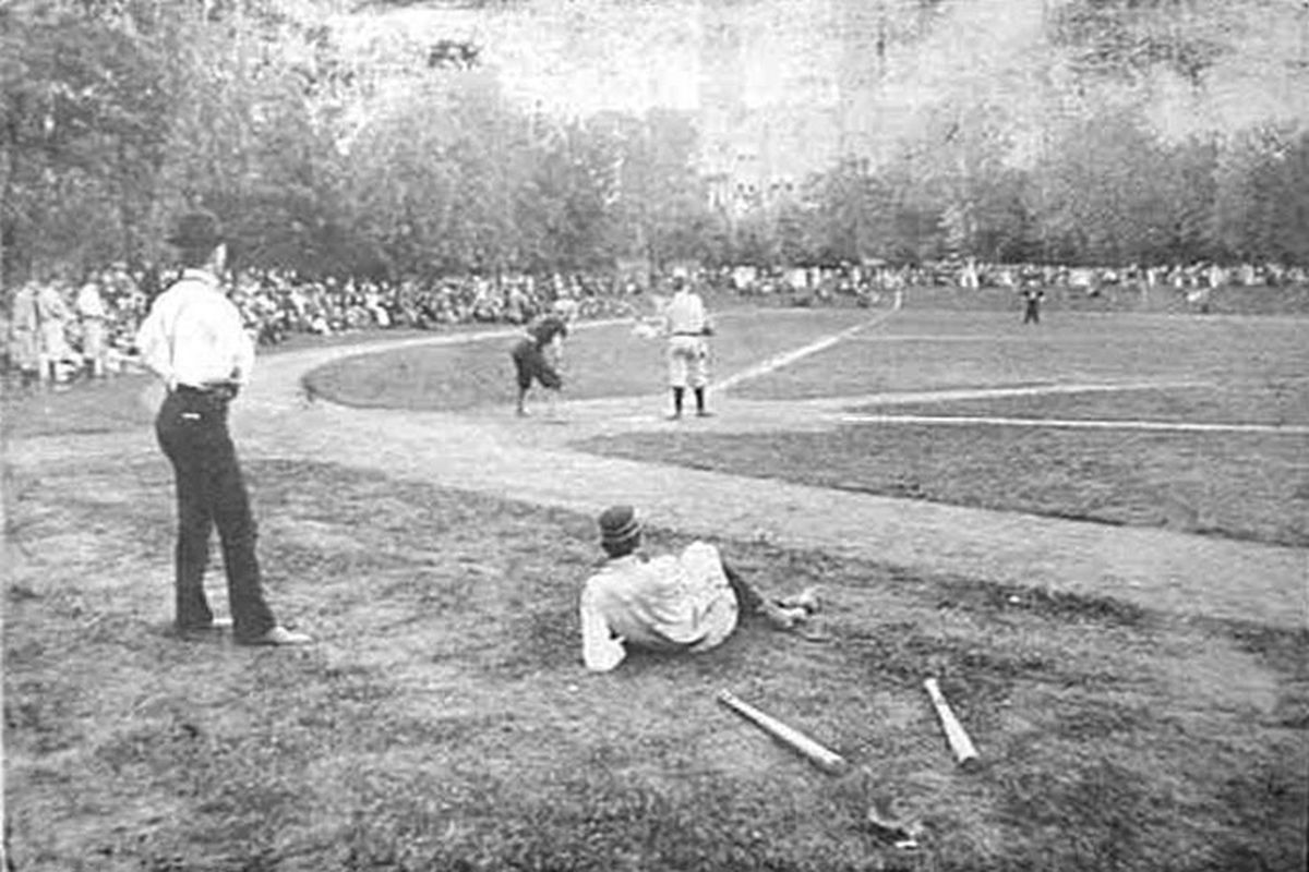Vanderbilt baseball in 1890. Back when coaches and umpires understood what style is. That's right, the historic pictures are back!
