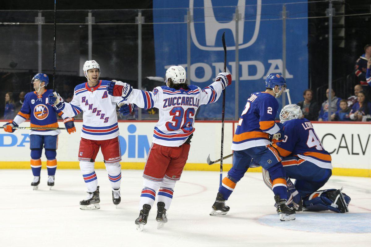 NHL: New York Rangers at New York Islanders