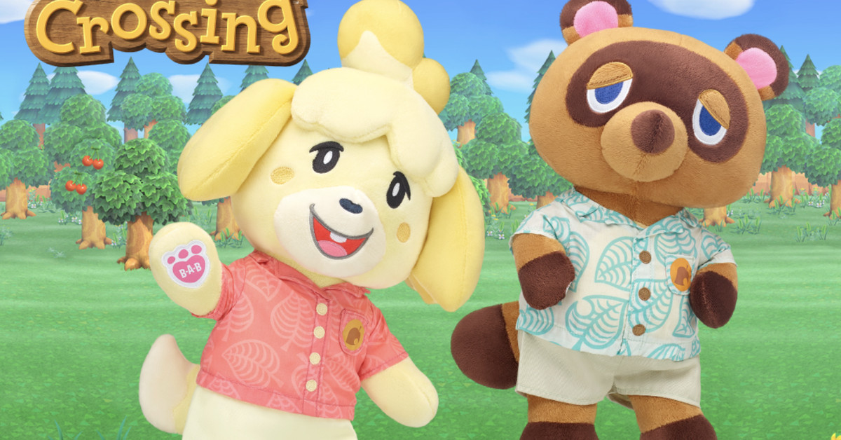 Build-A-Bear's adorable Animal Crossing: New Horizons collaboration is here