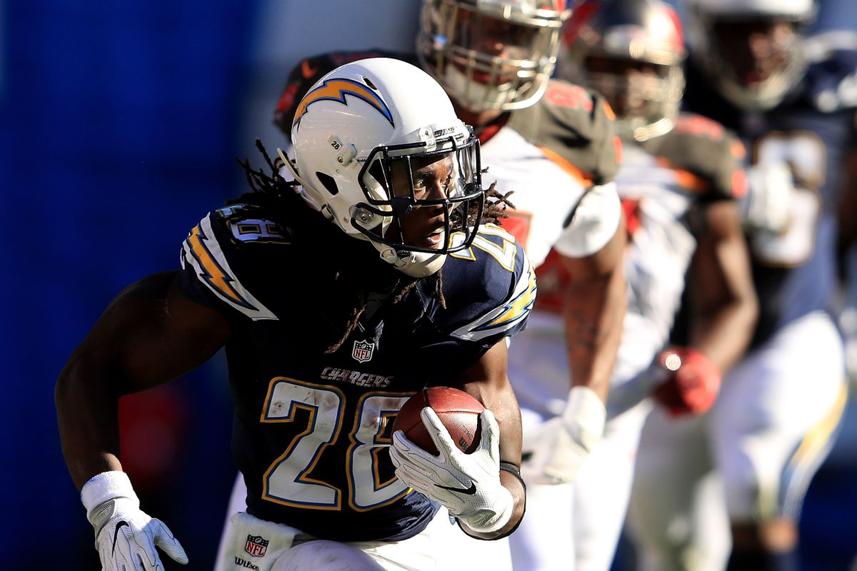 2204af4e Los Angeles Chargers Daily Links: Will Melvin Gordon Stay Healthy ...
