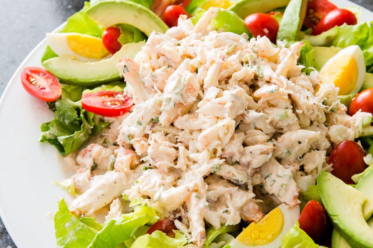 Crab Louis salad.