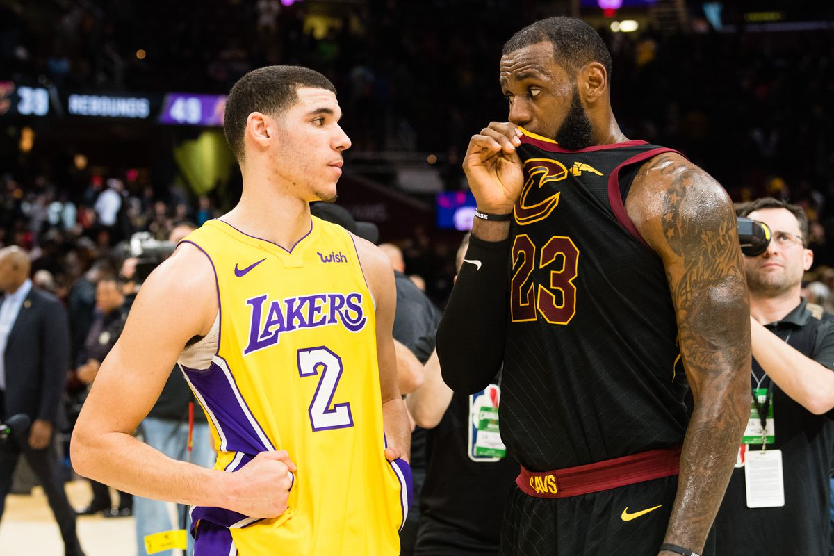 e19b7a1794ab LeBron James doesn t see this as rebuilding year for Lakers - Silver ...