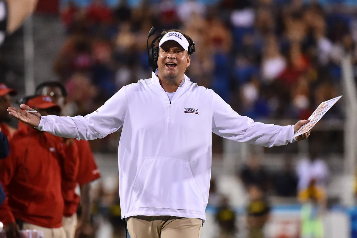 NCAA Football: Western Kentucky at Florida Atlantic