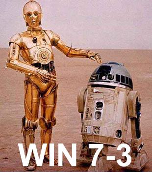 WIN, 7-3