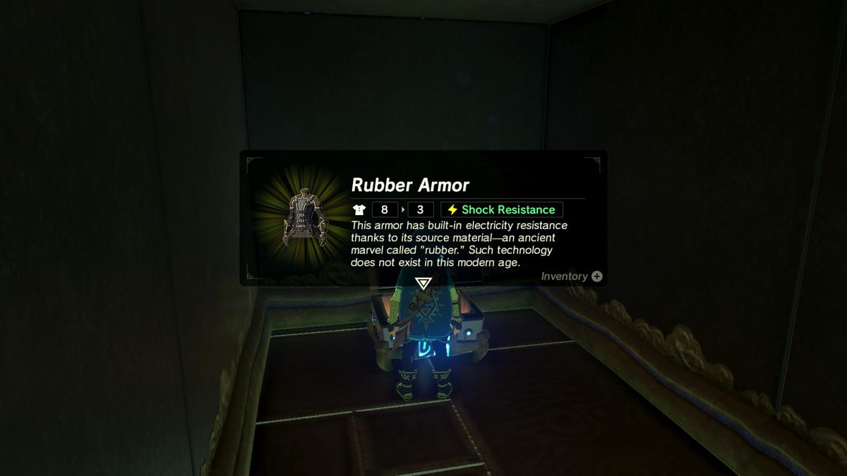 Zelda Breath of the Wild guide: How to get the rubber armor