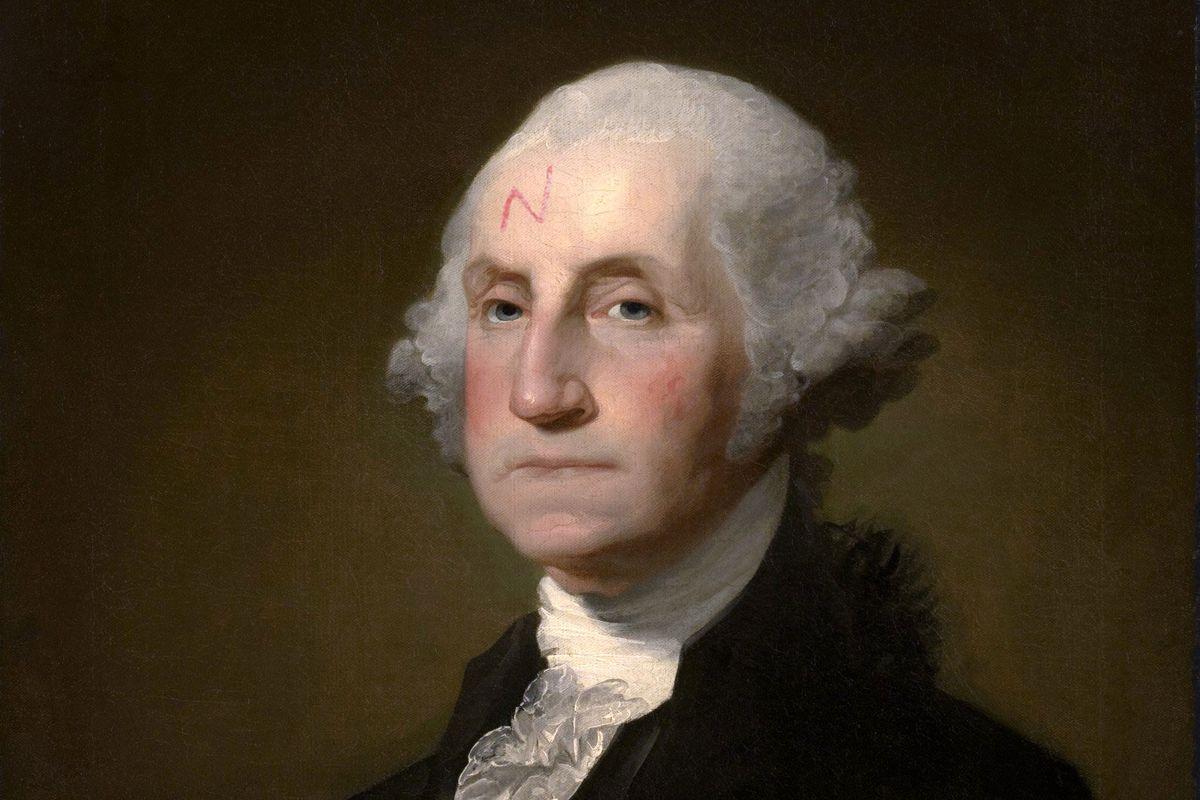 President George Washington, a future Harry Potter character?