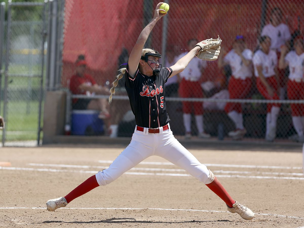 Spanish Fork High School pitcher Avery Sapp is the Deseret News 4A Softball Player of the Year.