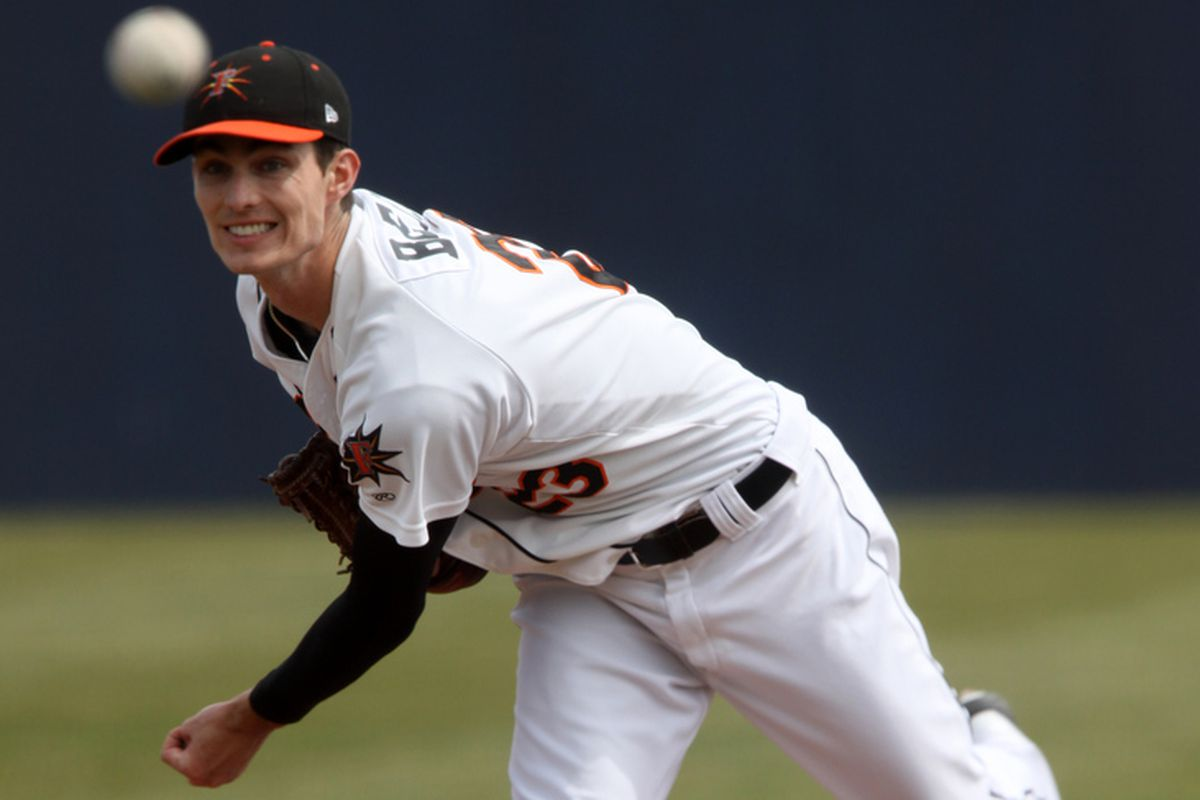 Tim Berry struck out 11 in 6 IP tonight!  Ready for Bowie?