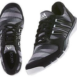 """<b>Adidas</b> Adipure 360 Climacool Celebration Shoe, <a href=""""http://www.adidas.com/us/product/womens-training-adipure-360-climacool-celebration-shoe/IEU71?cid=F33188&breadcrumb=1z13071Z1z11zrfZsvZu3Z1z13y9n"""">$85</a>"""