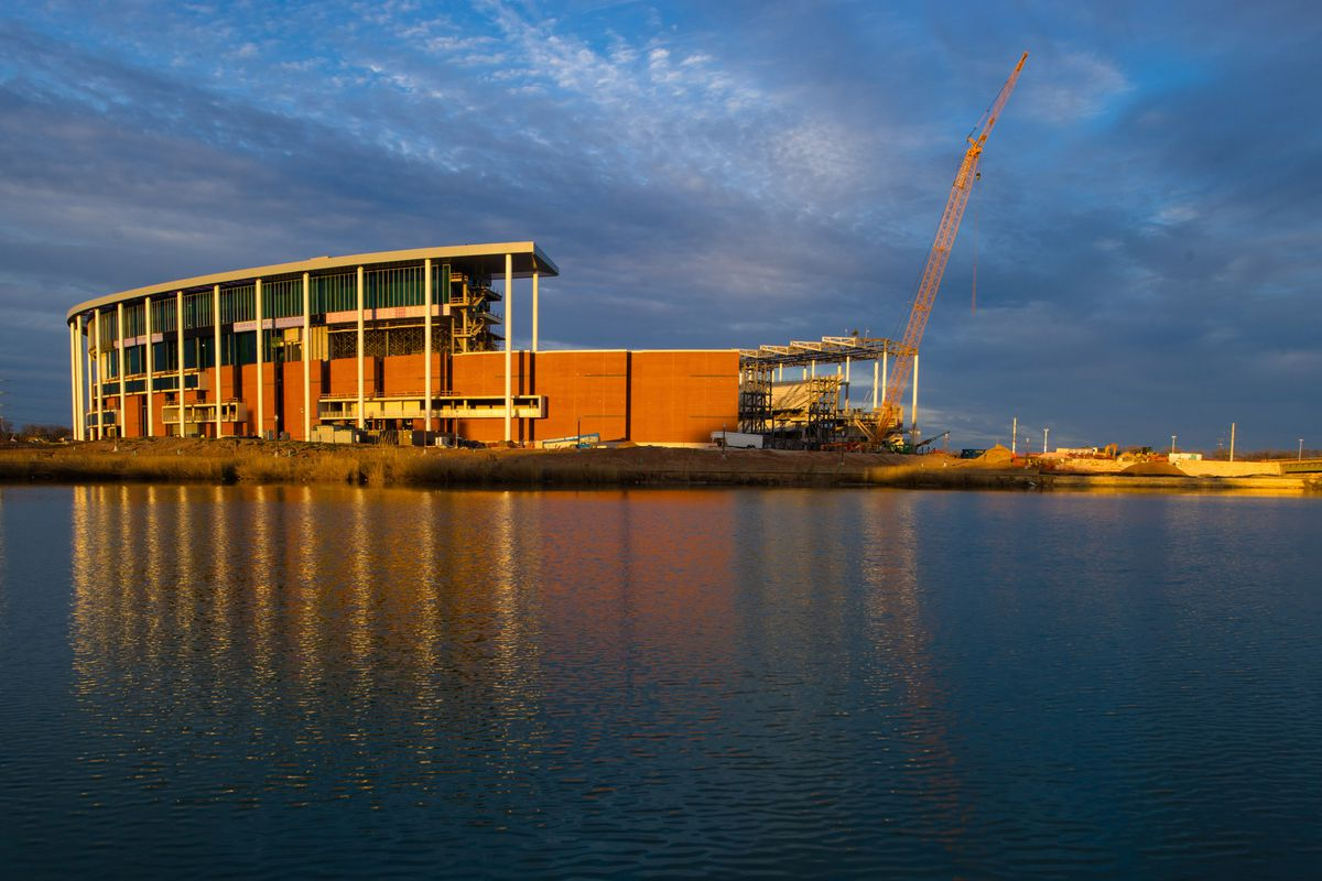 I couldn't find an image of Kendal Briles, so here's a lovely picture of McLane Stadium at Sunset.