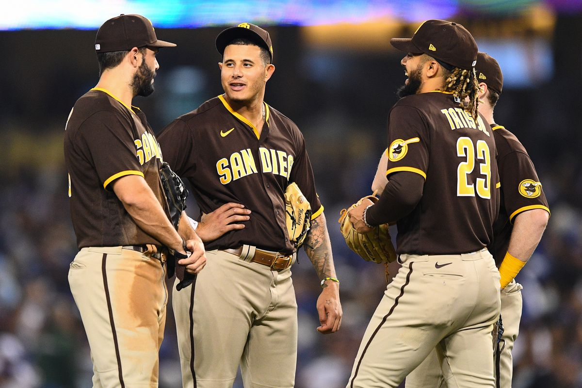 MLB: SEP 28 Padres at Dodgers