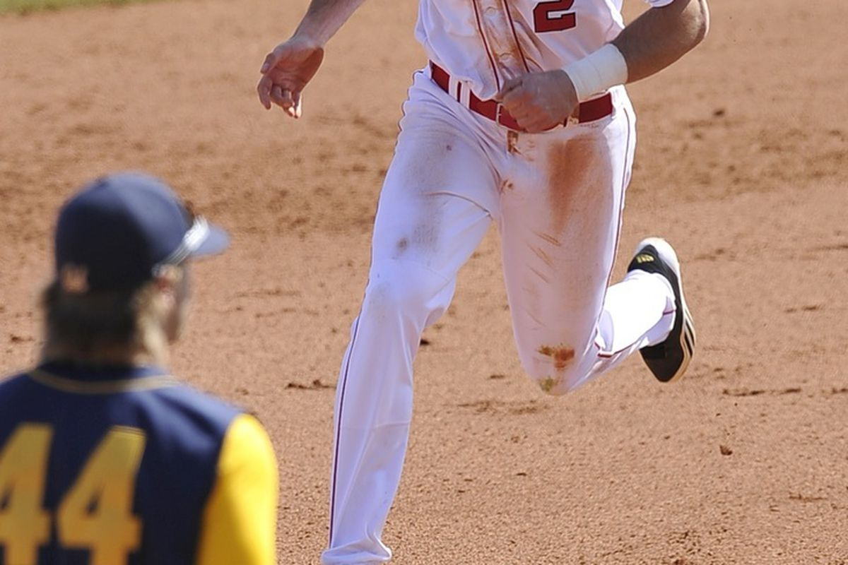 Chad Christensen has been the star of the series against LaTech so far.  (Photo by Dennis Hubbard)