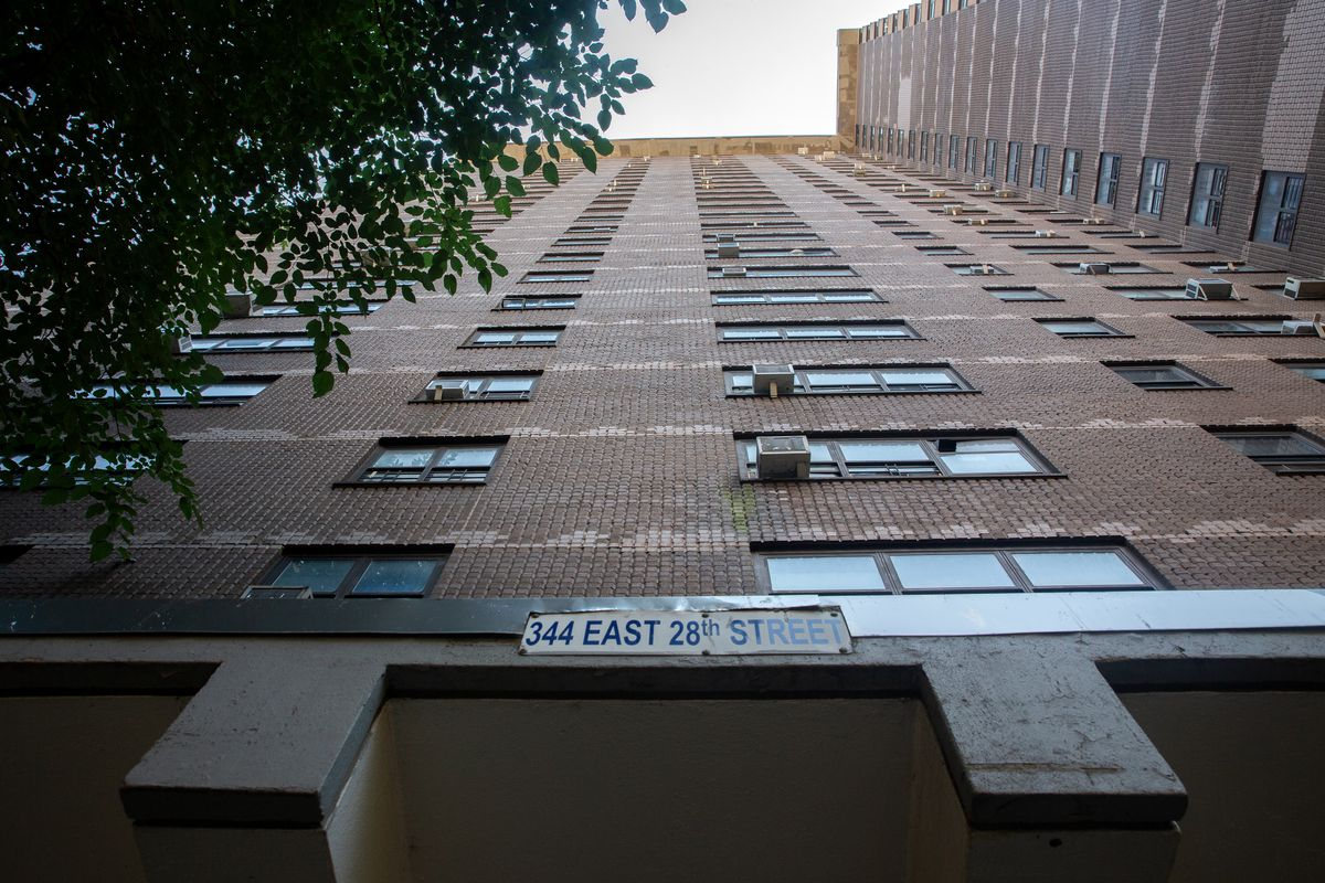 A NYCHA building on east 28th Street in Manhattan was slated for RAD conversion, July 16, 2020.