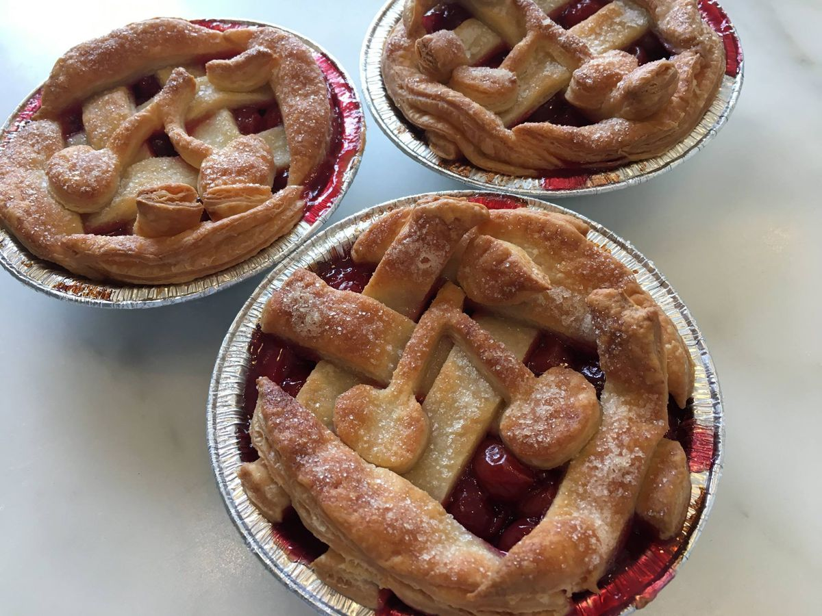 Cherry pies from Tiny Pies