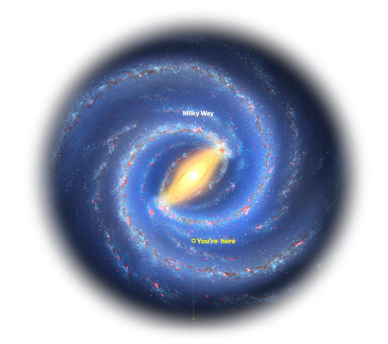 milky_way_mass_Milky Scientists weighed all the mass in the Milky Way galaxy. It's mind-boggling.