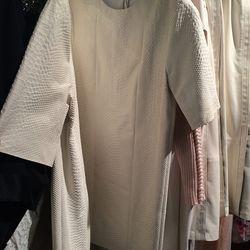 Python stamped dress, $500