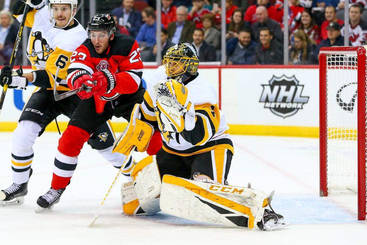 NHL: NOV 13 Penguins at Devils