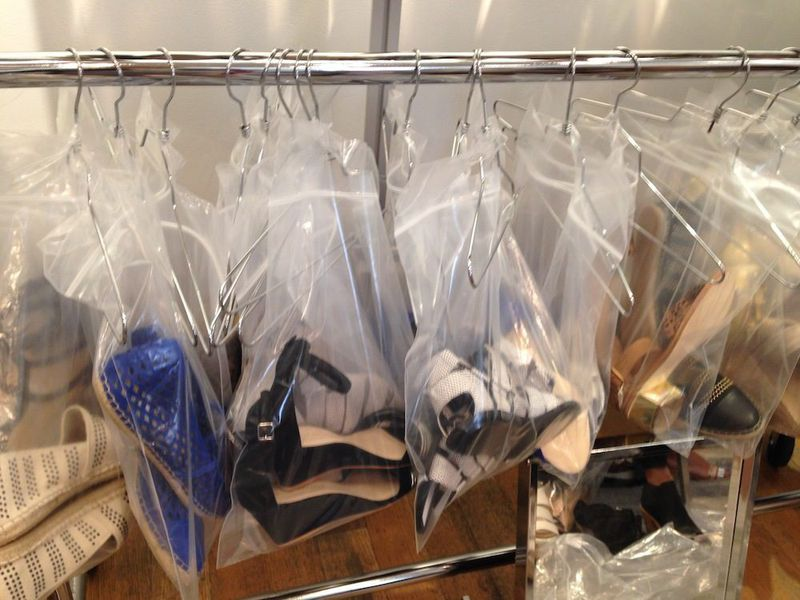 Photos and Prices From Inside the Loeffler Randall Sample Sale ...