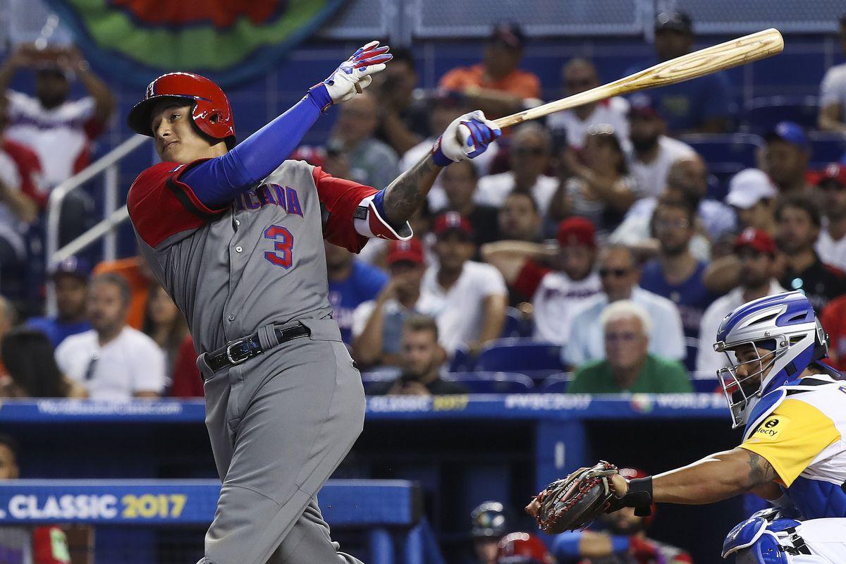 Baseball: World Baseball Classic-Dominican Republic at Colombia