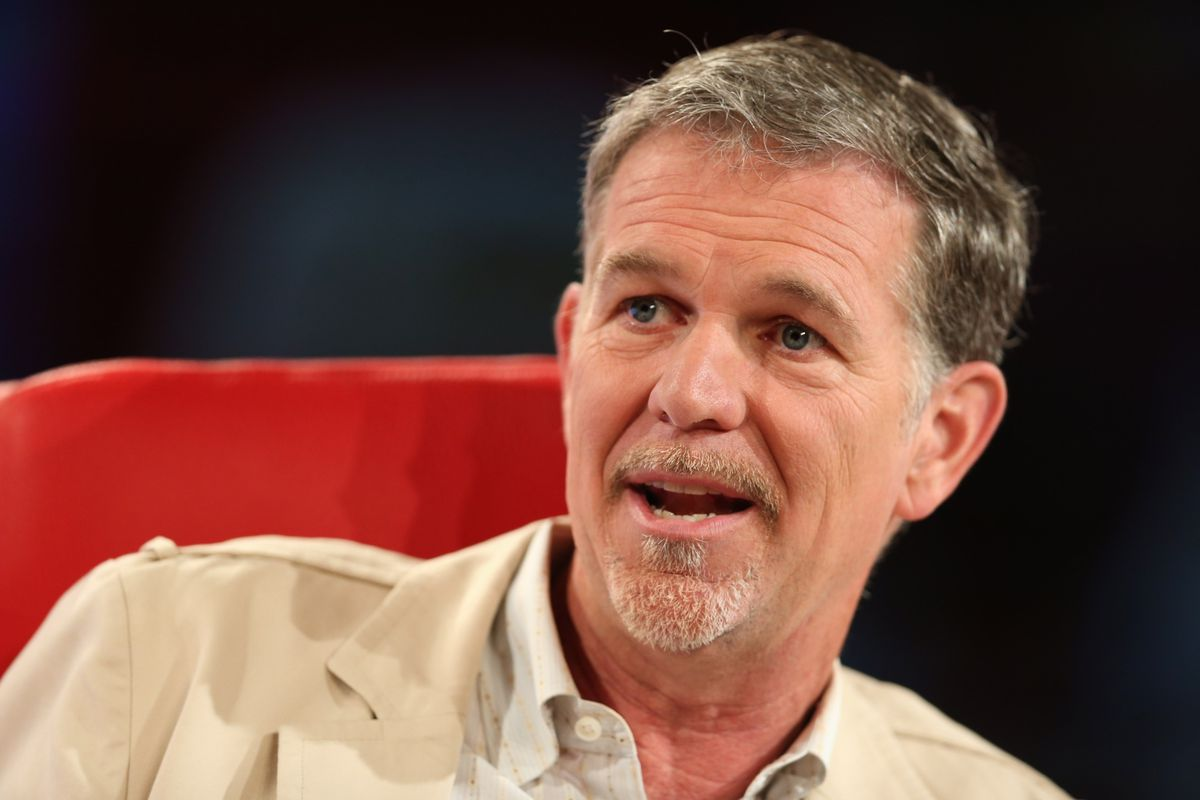 """""""We're raising the question — they'll have 40 percent of residential Internet — what does it mean when one company has that kind of control?"""" Netflix CEO Reed Hastings, about Comcast at the Code Conference."""