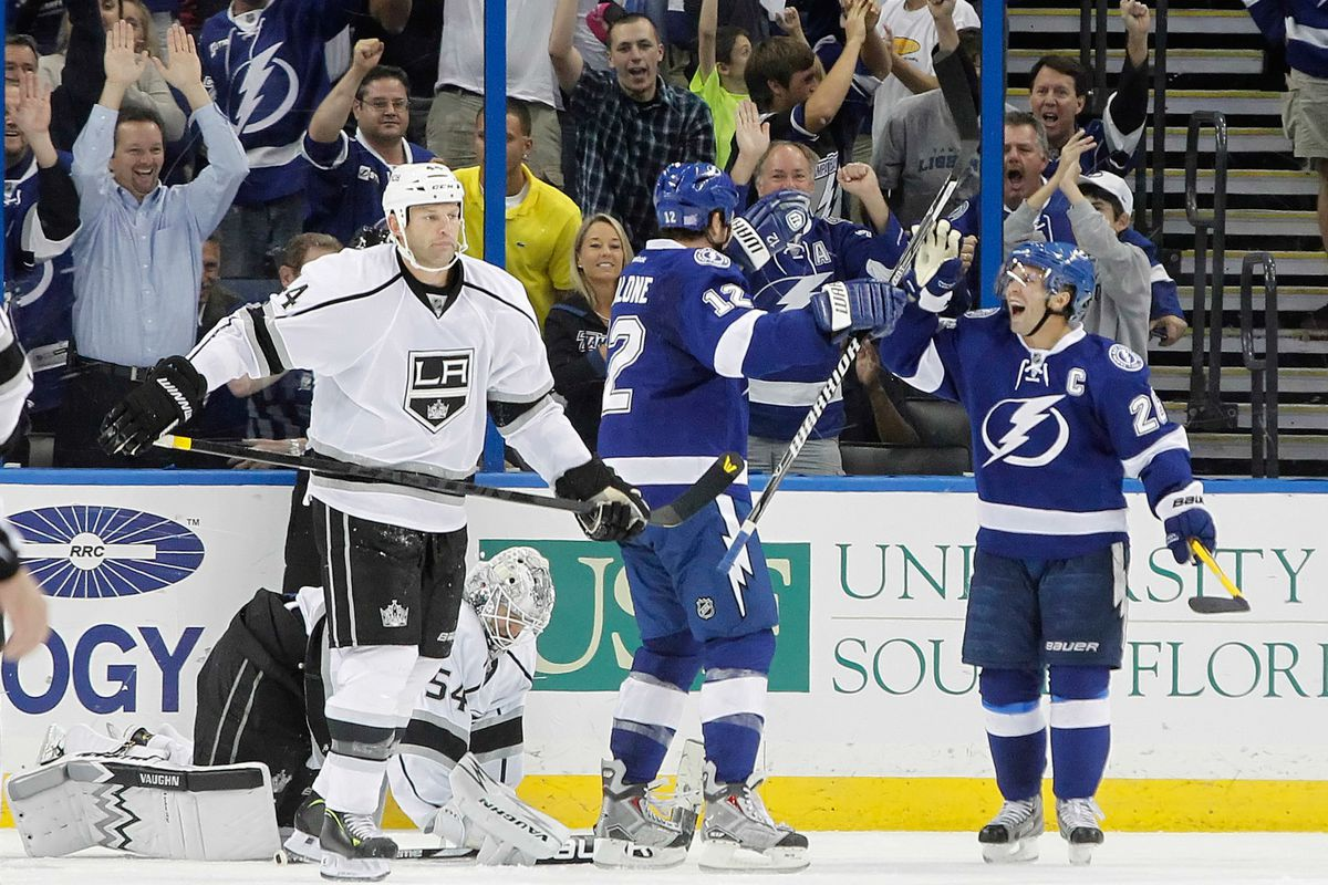 Tampa Bay did all the celebrating on Tuesday night.