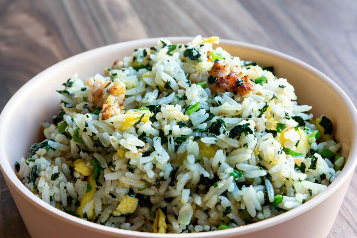 Jade fried rice at Mamahuhu