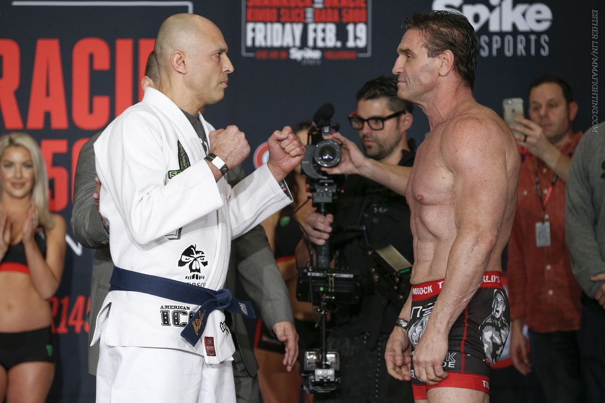 Royce, you have nothing to prove. Why fight Ken Shamrock?