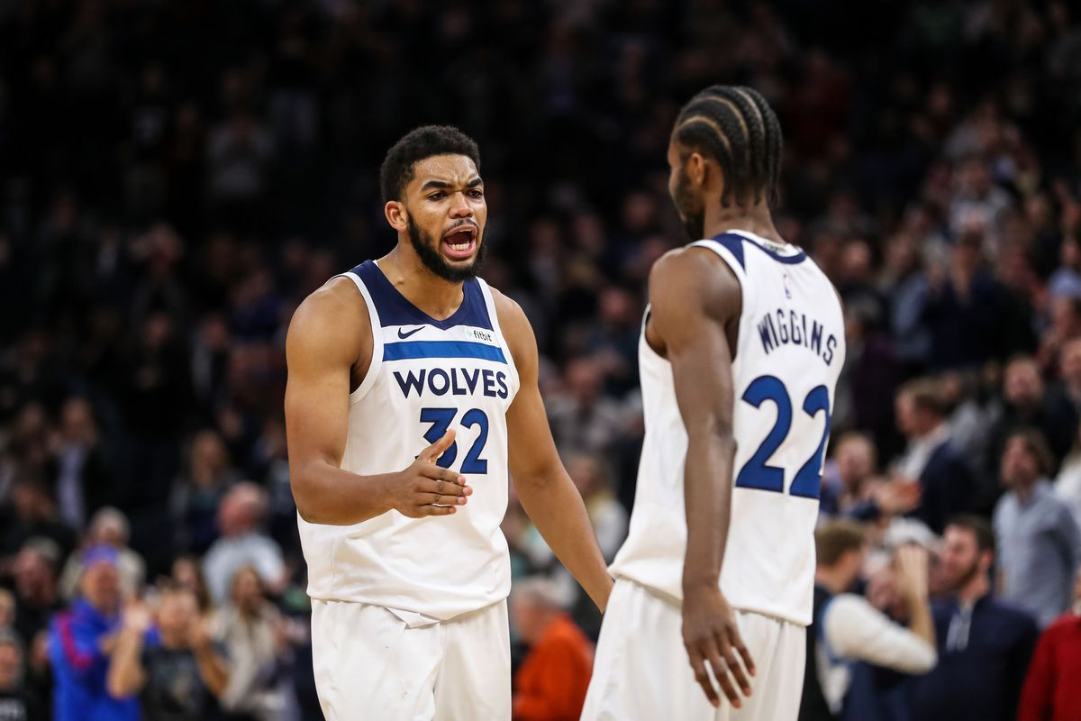 Karl Anthony Towns Andrew Wiggins Injury Updates Tuesday Vs
