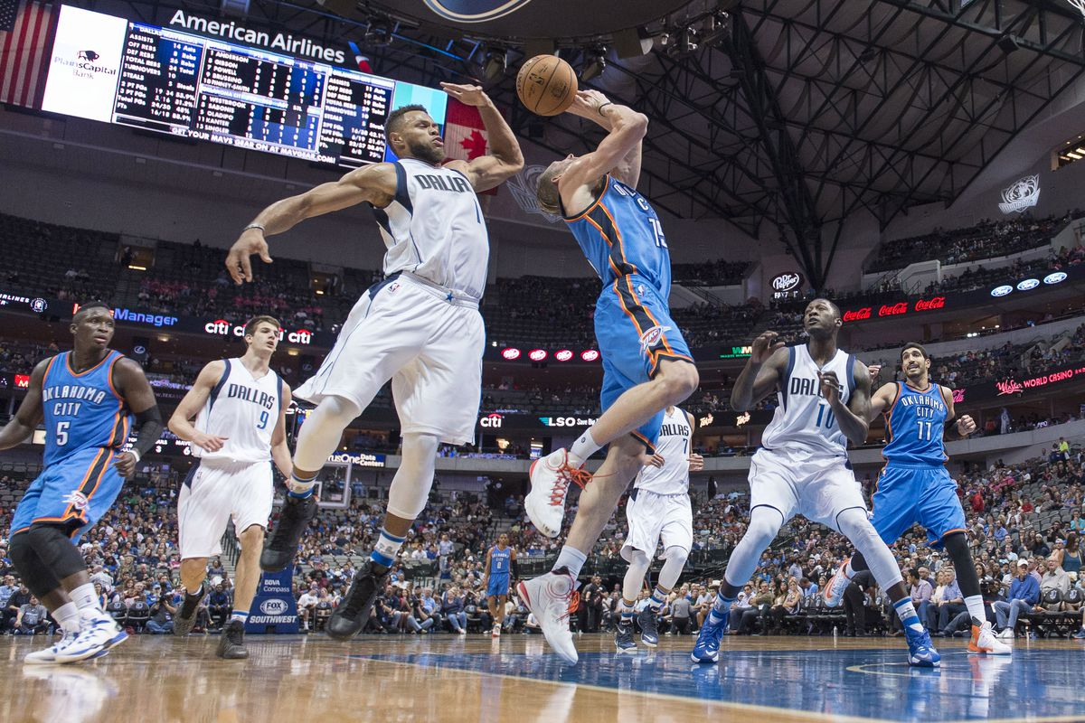 NBA: Preseason-Oklahoma City Thunder at Dallas Mavericks