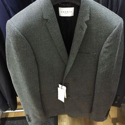 Suit jacket, $225 (was $685)