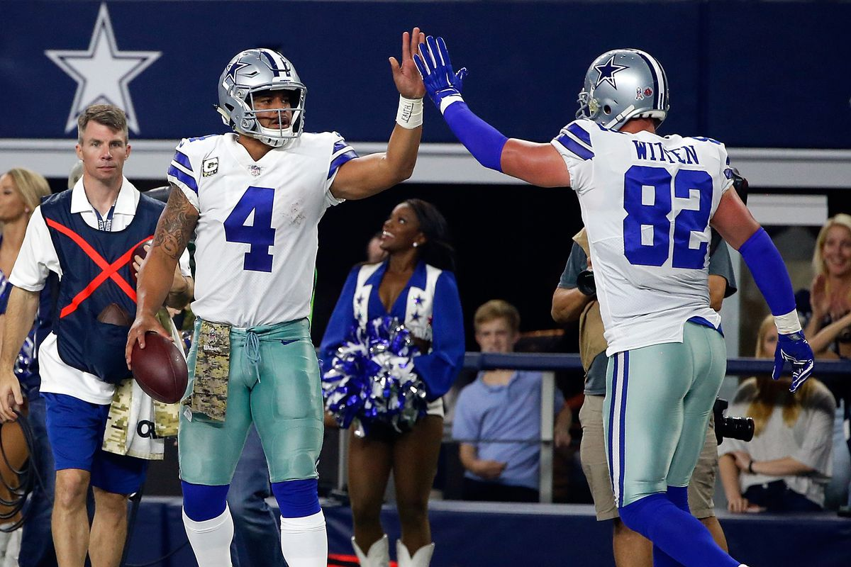bd8332697f5 Jason Witten believes this current Cowboys team has the most talent he's  seen, but is he right?