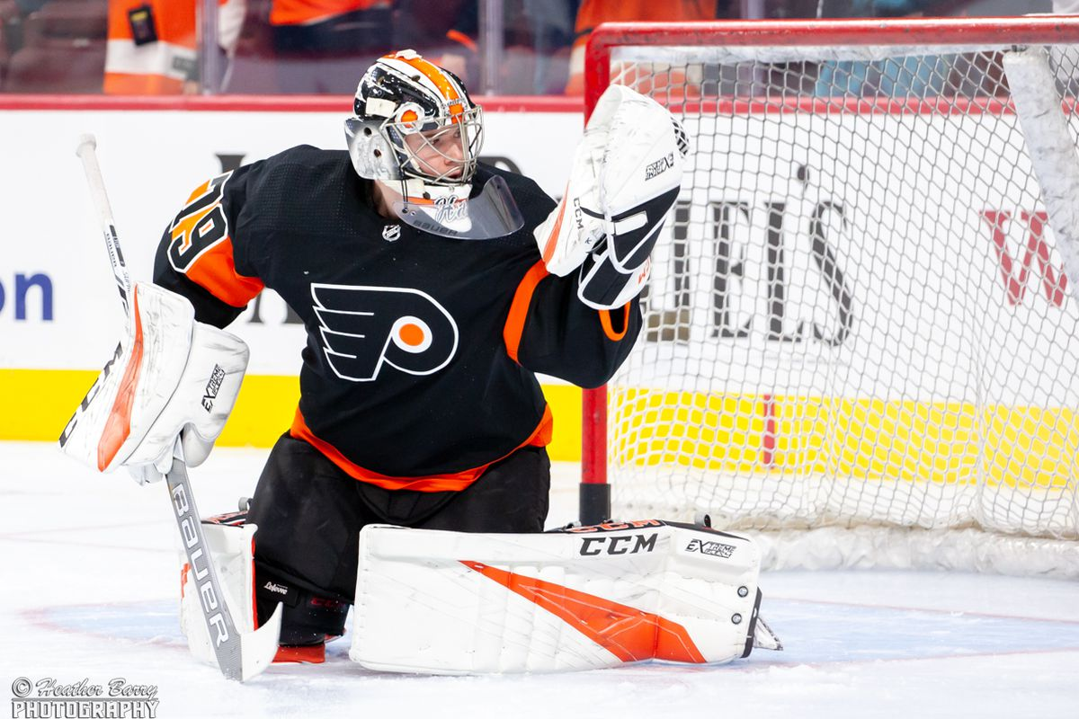 3bb47742a91 How Carter Hart shapes up against NHL starters this season - Broad ...