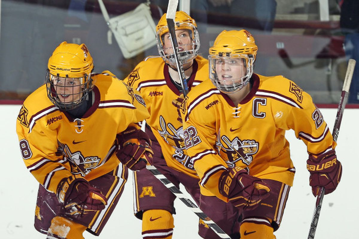 Hannah Brandt and Amanda Kessel lead the Gophers in the quest for another title