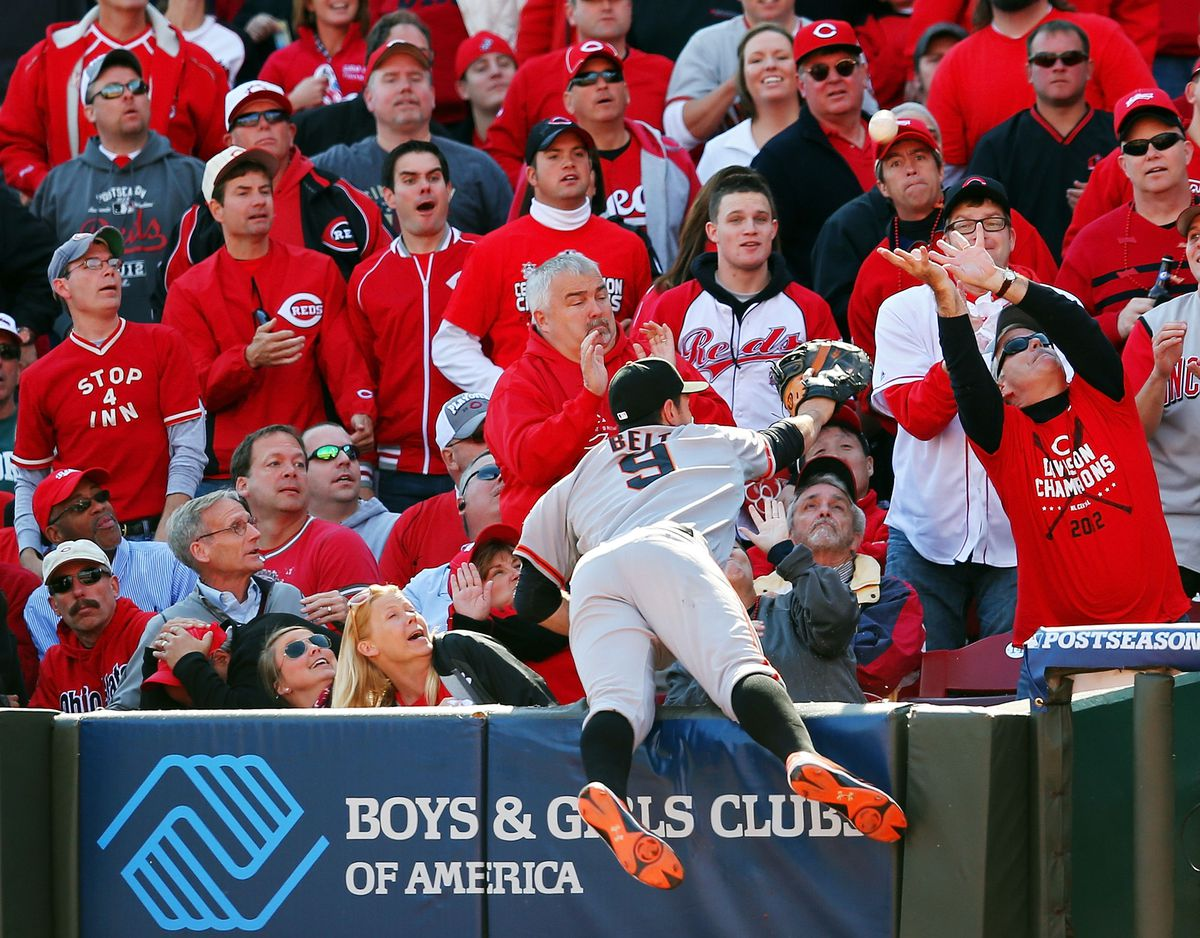 Division Series - San Francisco Giants v Cincinnati Reds - Game Five