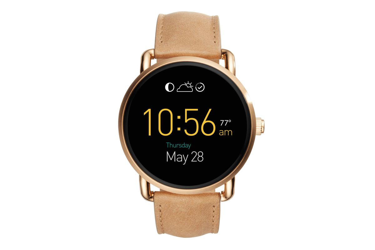 fossil adds two new watches to its android wear lineup the verge. Black Bedroom Furniture Sets. Home Design Ideas