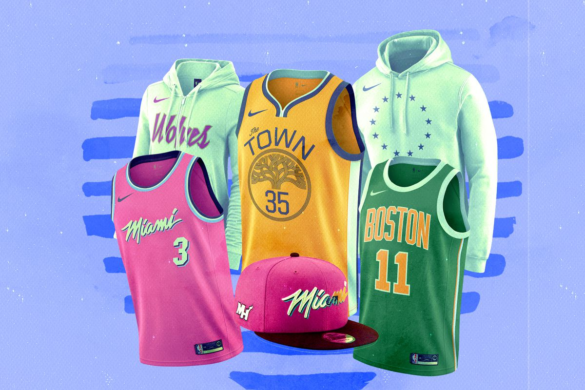 new style 283a5 362c4 NBA Earned Edition 2018: The jerseys and merch you'll want ...