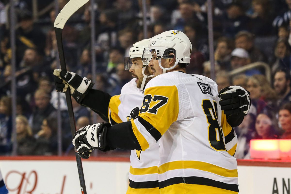 reputable site 5698f 9cb77 Trending Penguins Players  Hats off to the top line