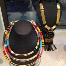 Necklaces, $75 each