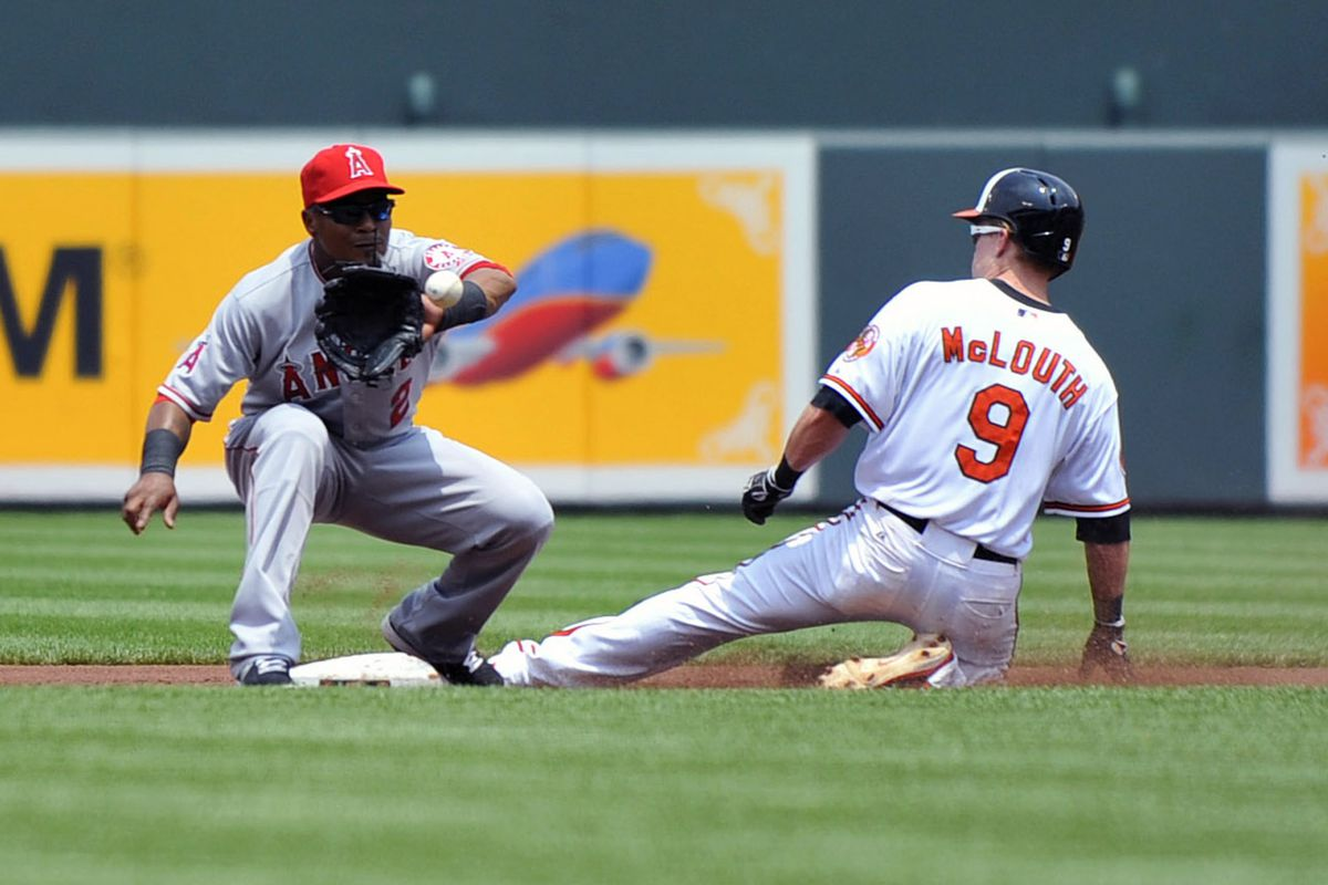 Nate McLouth was called out on this play.