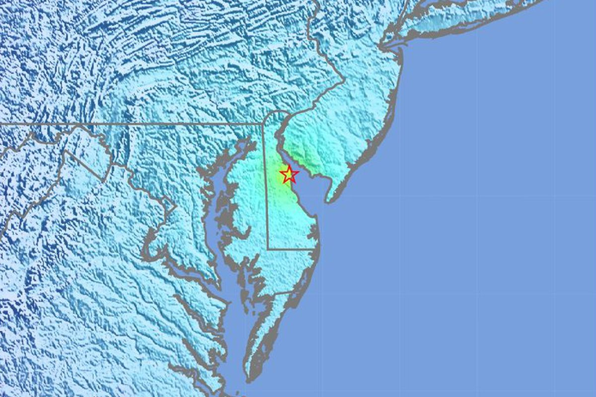4.4 magnitude DE  natural disaster  shakes Philly, South Jersey region